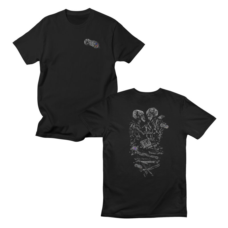 Press Start to Continue: Crest version Men's T-Shirt by Thomas Orrow