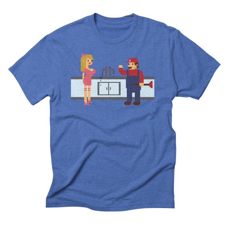 Hardcore Plumber Men's Triblend T-Shirt by Thomas Orrow