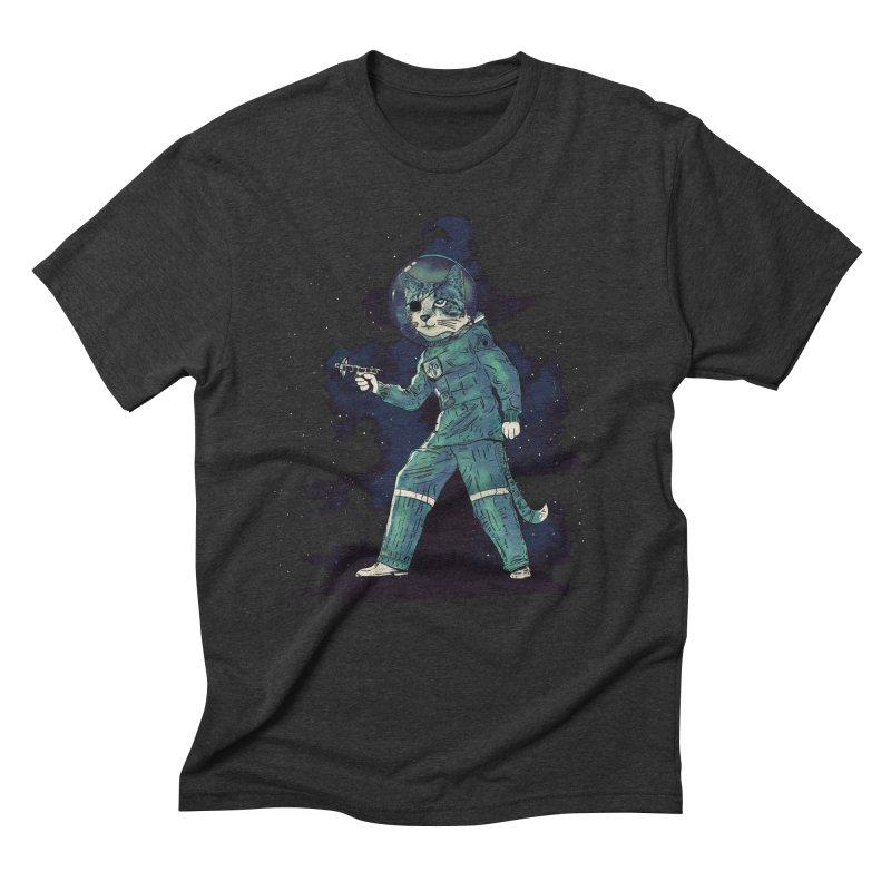 Major Tomcat Men's Triblend T-shirt by Thomas Orrow