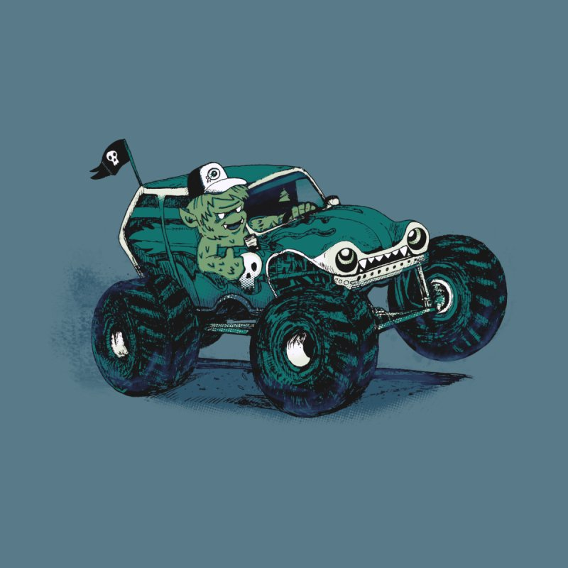 Monster Truckin' None  by Thomas Orrow