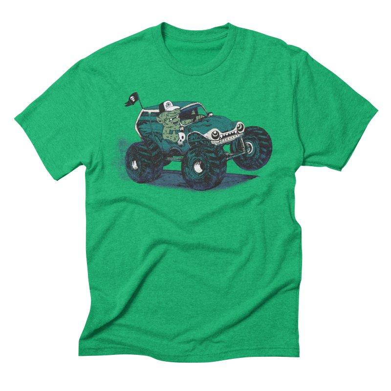 Monster Truckin' Men's Triblend T-shirt by Thomas Orrow