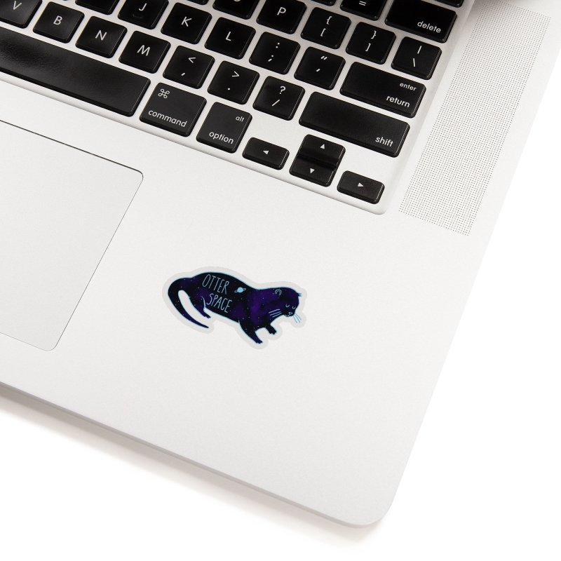 Otter Space Blues Accessories Sticker by Thomas Orrow