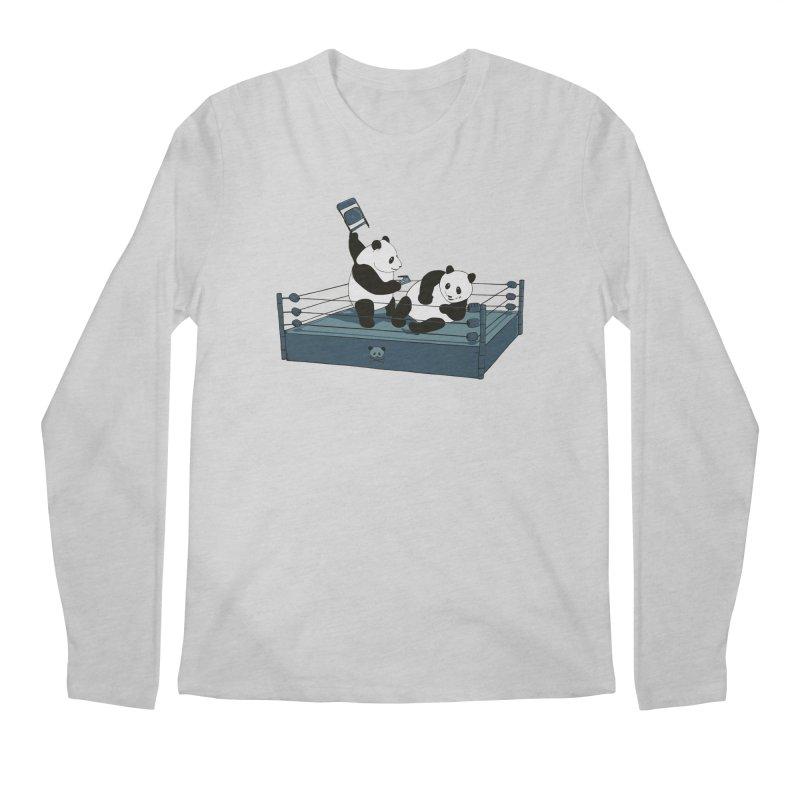 Pandamania Men's Longsleeve T-Shirt by Thomas Orrow