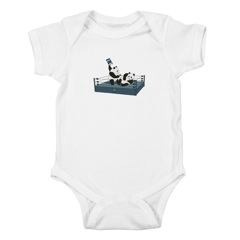 Pandamania Kids Baby Bodysuit by Thomas Orrow