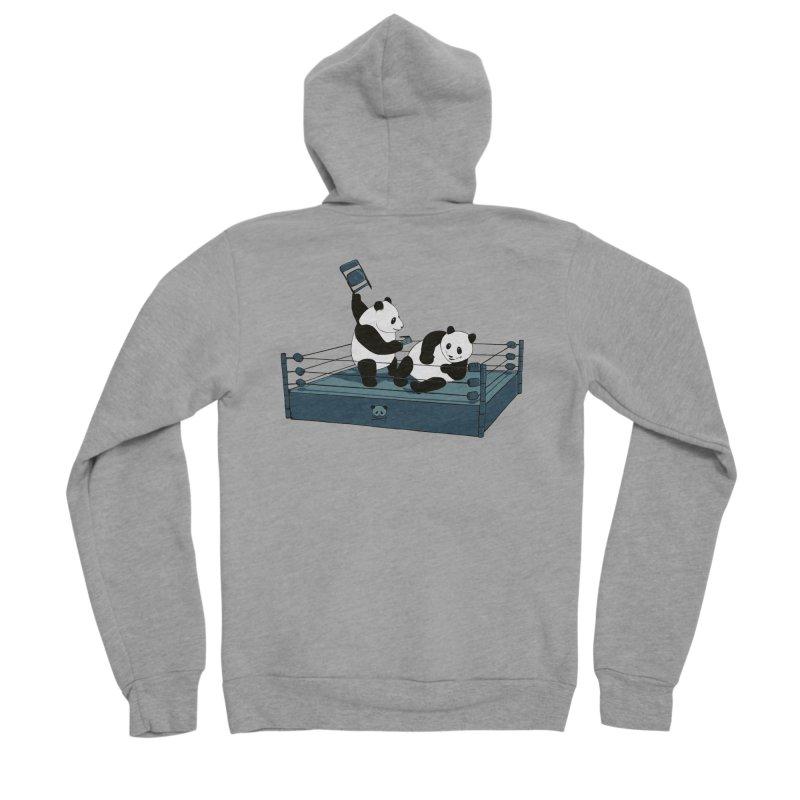 Pandamania Men's Sponge Fleece Zip-Up Hoody by Thomas Orrow