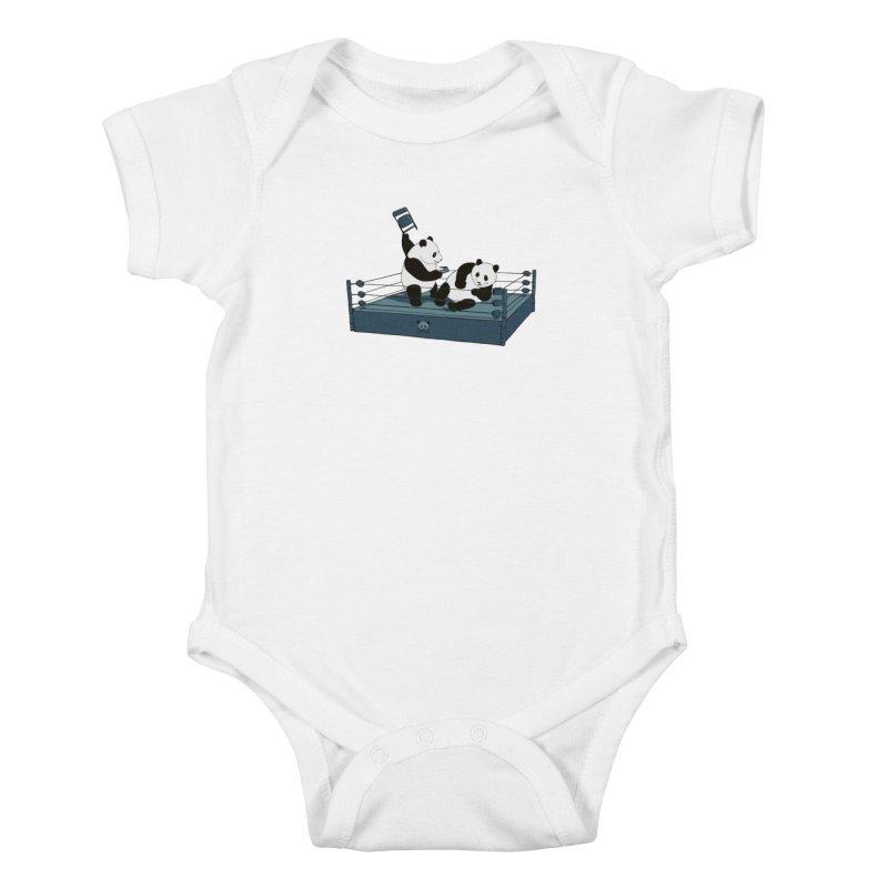 Pandamania Kids Baby Bodysuit by Thomas Orrow