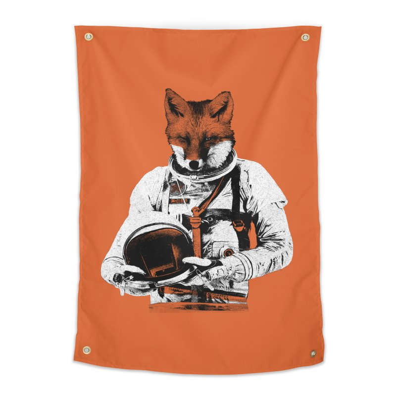 The Fastest Fox Home Tapestry by Thomas Orrow