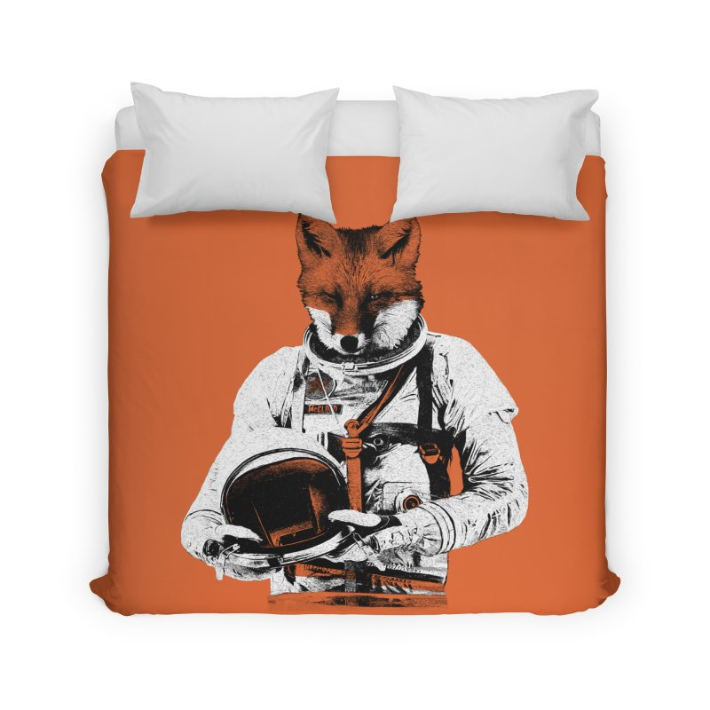 The Fastest Fox Home Duvet by Thomas Orrow