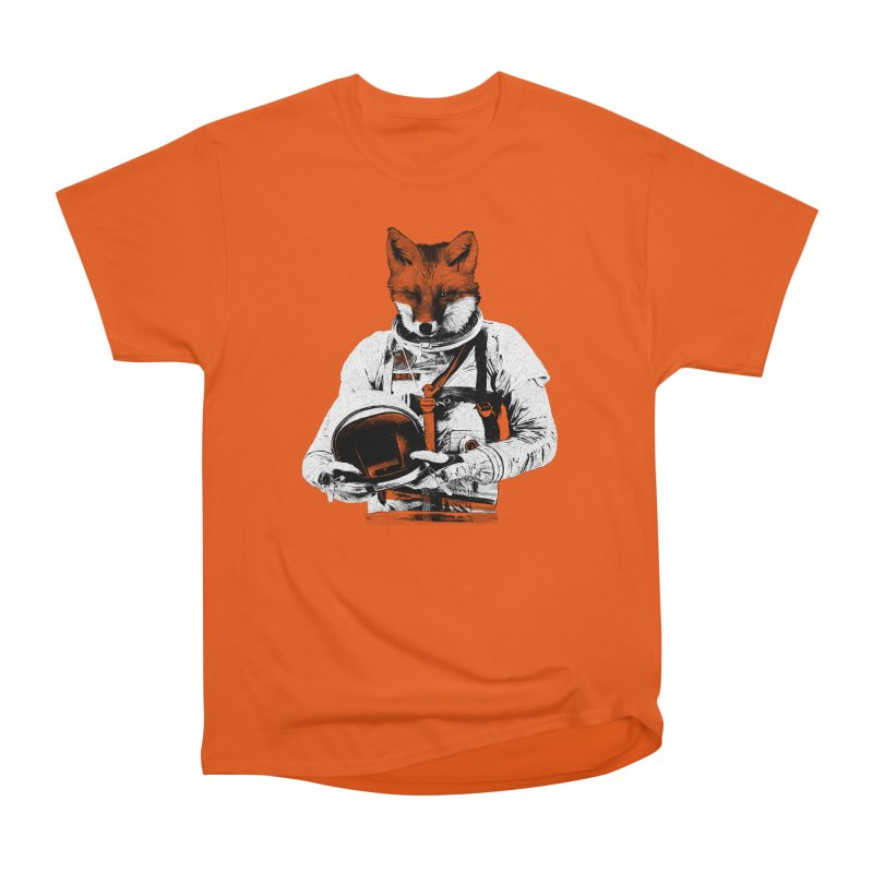 The Fastest Fox Men's Heavyweight T-Shirt by Thomas Orrow