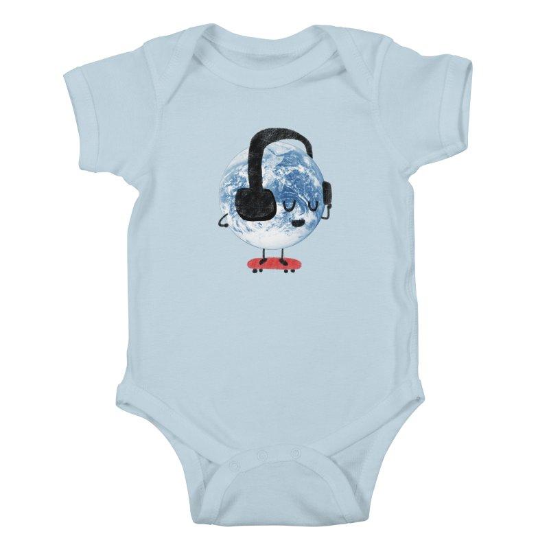 World Music Kids Baby Bodysuit by Thomas Orrow