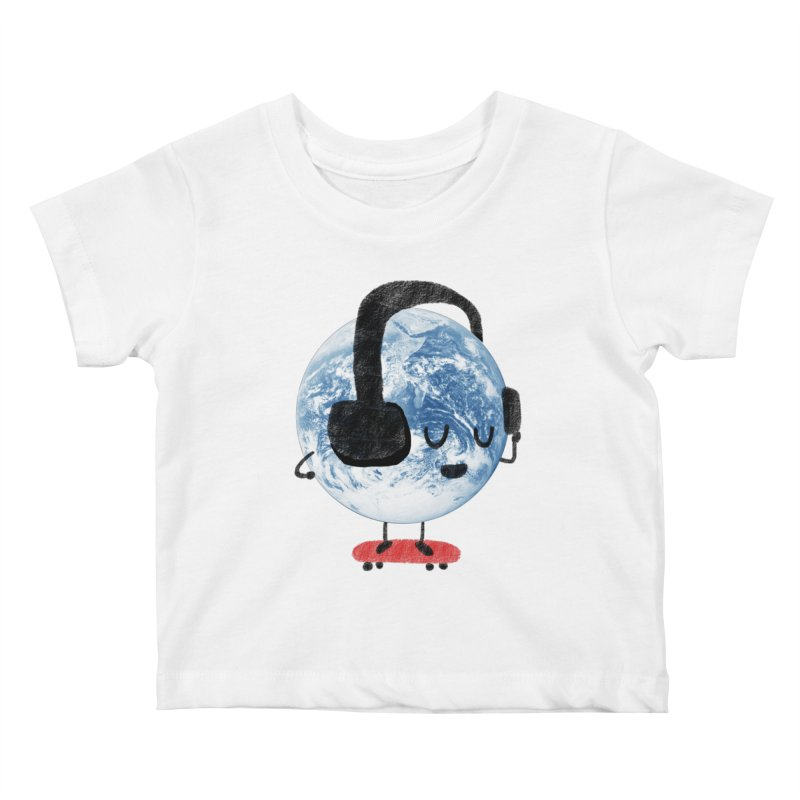 World Music Kids Baby T-Shirt by Thomas Orrow