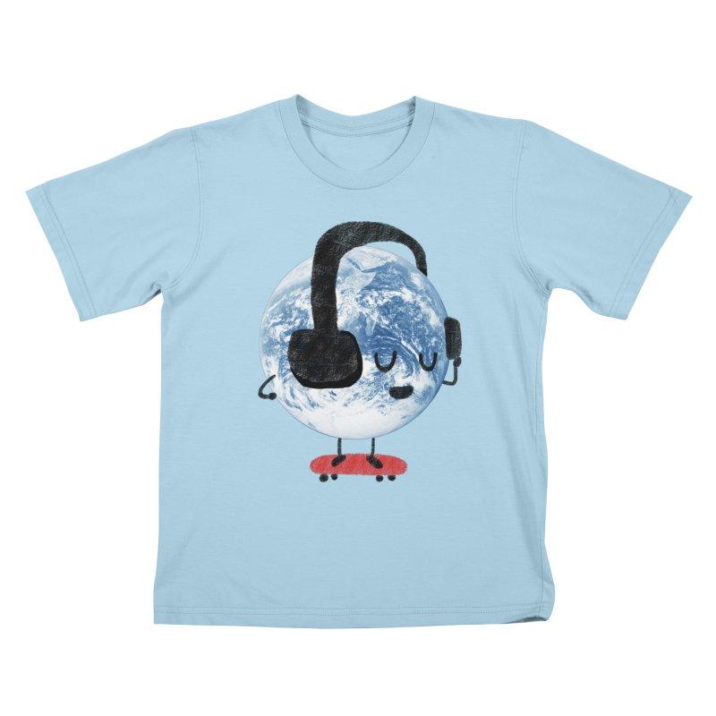 World Music Kids T-shirt by Thomas Orrow