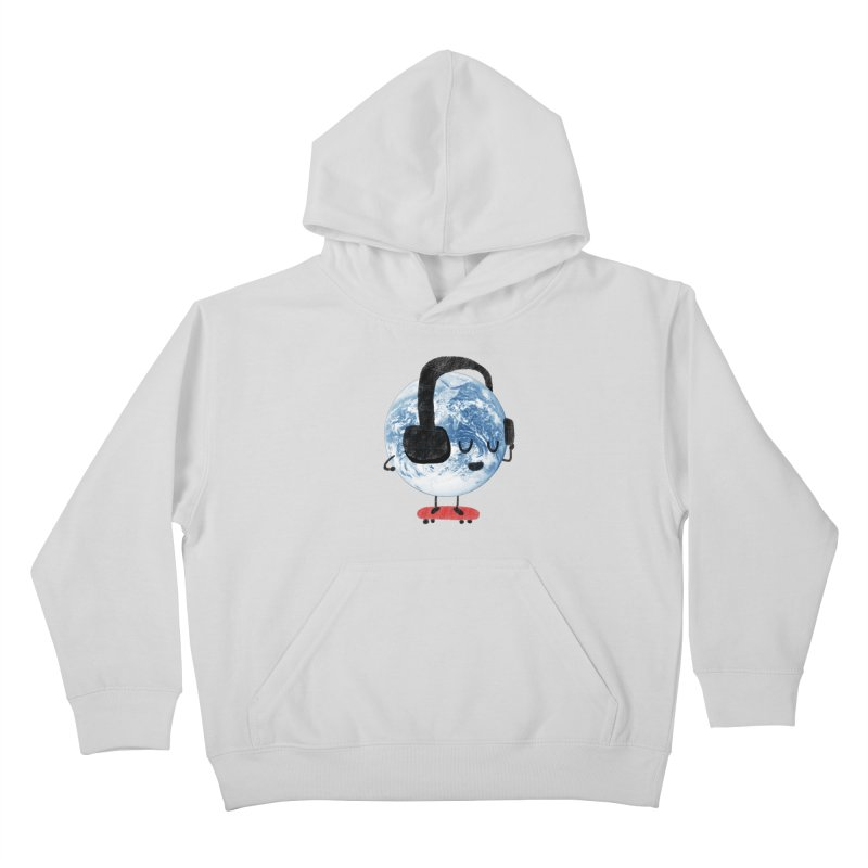 World Music Kids Pullover Hoody by Thomas Orrow