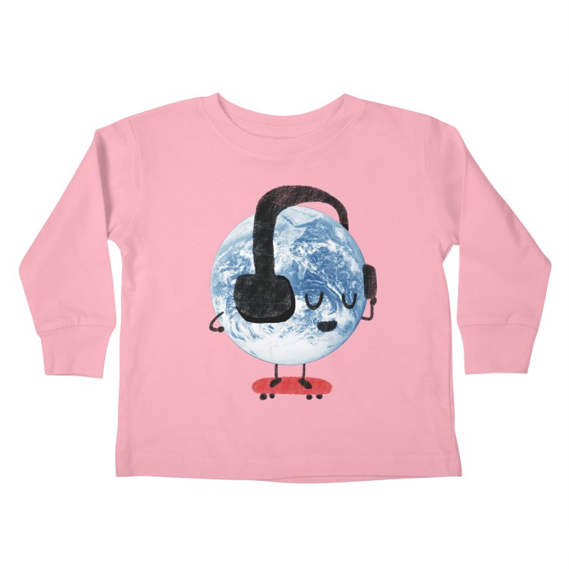 World Music Kids Toddler Longsleeve T-Shirt by Thomas Orrow