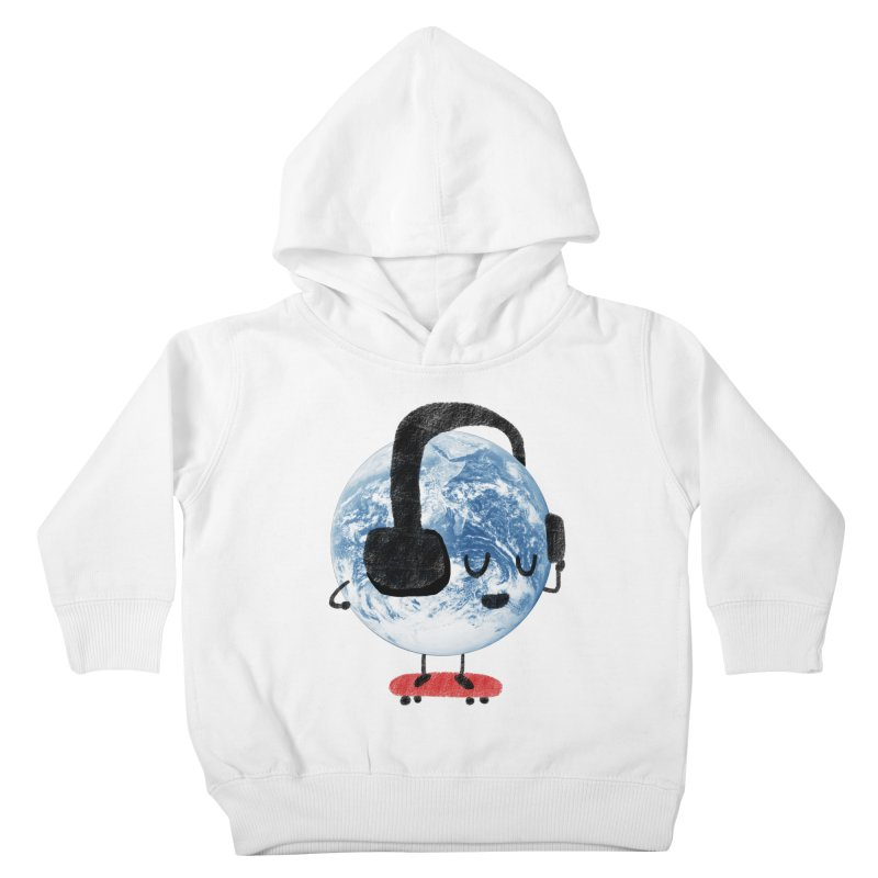 World Music Kids Toddler Pullover Hoody by Thomas Orrow
