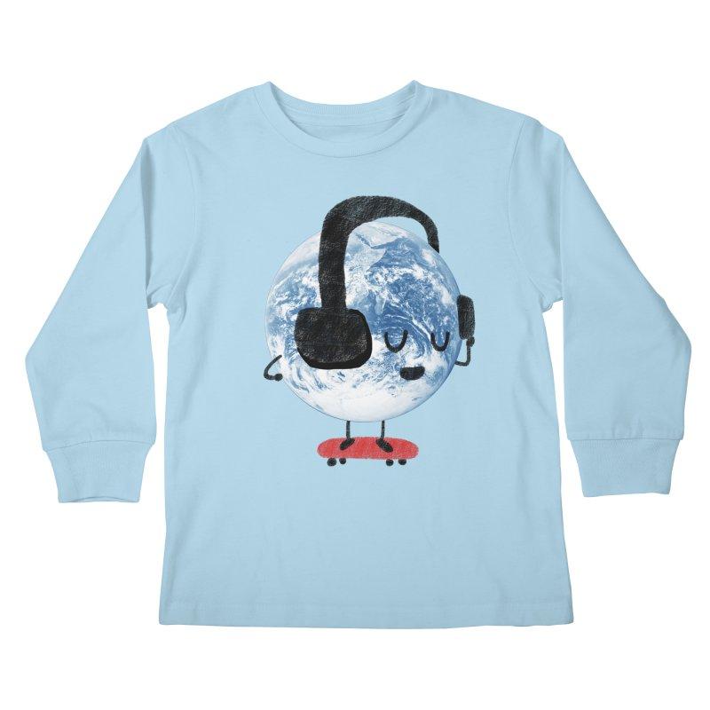 World Music Kids Longsleeve T-Shirt by Thomas Orrow