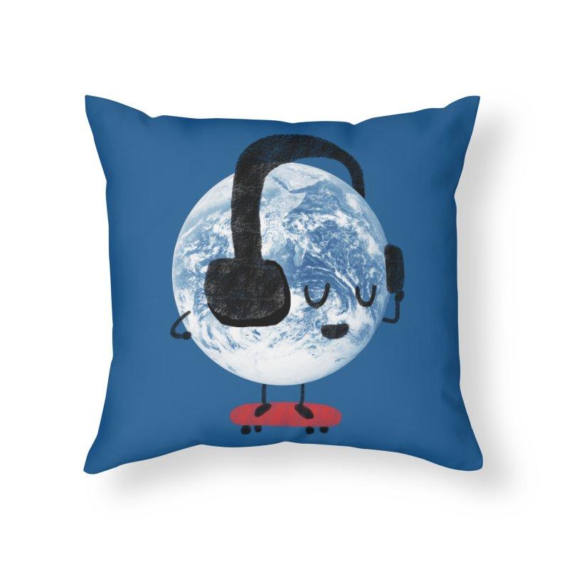 World Music Home Throw Pillow by Thomas Orrow