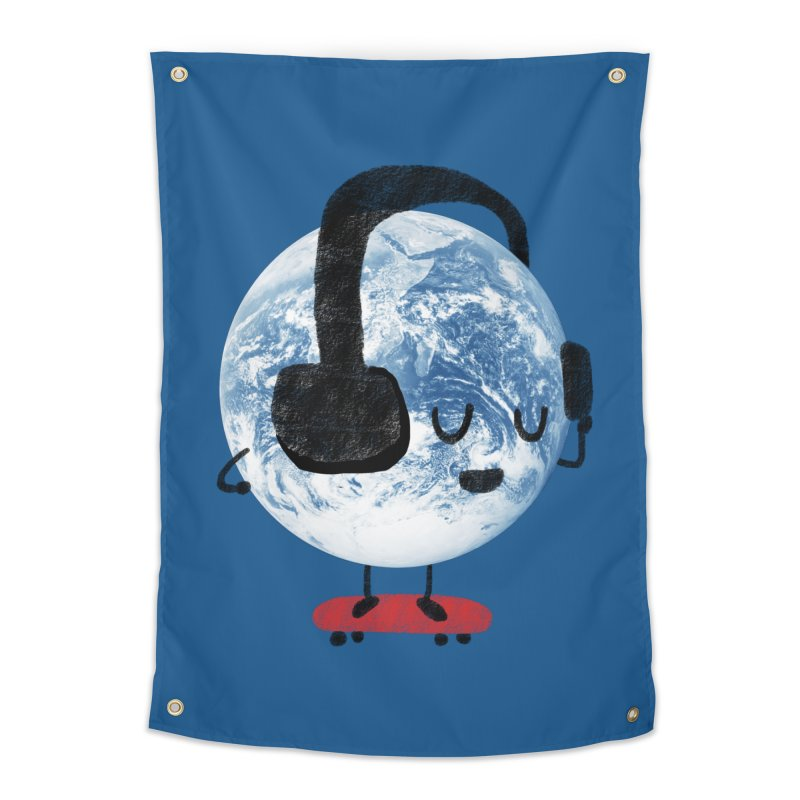World Music Home Tapestry by Thomas Orrow