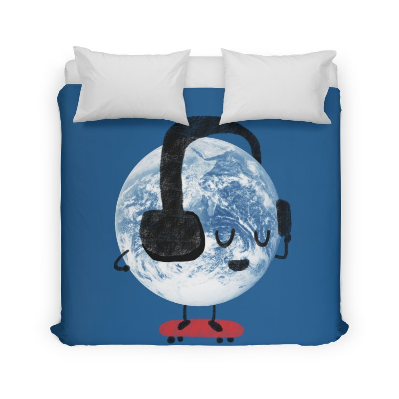 World Music Home Duvet by Thomas Orrow