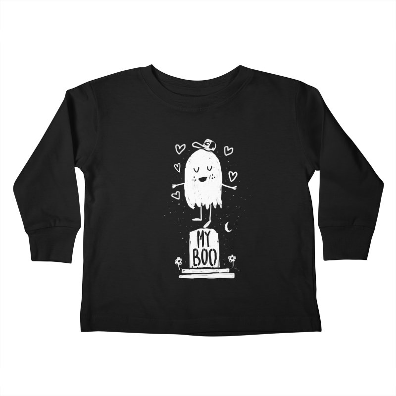 My Boo Kids Toddler Longsleeve T-Shirt by Thomas Orrow