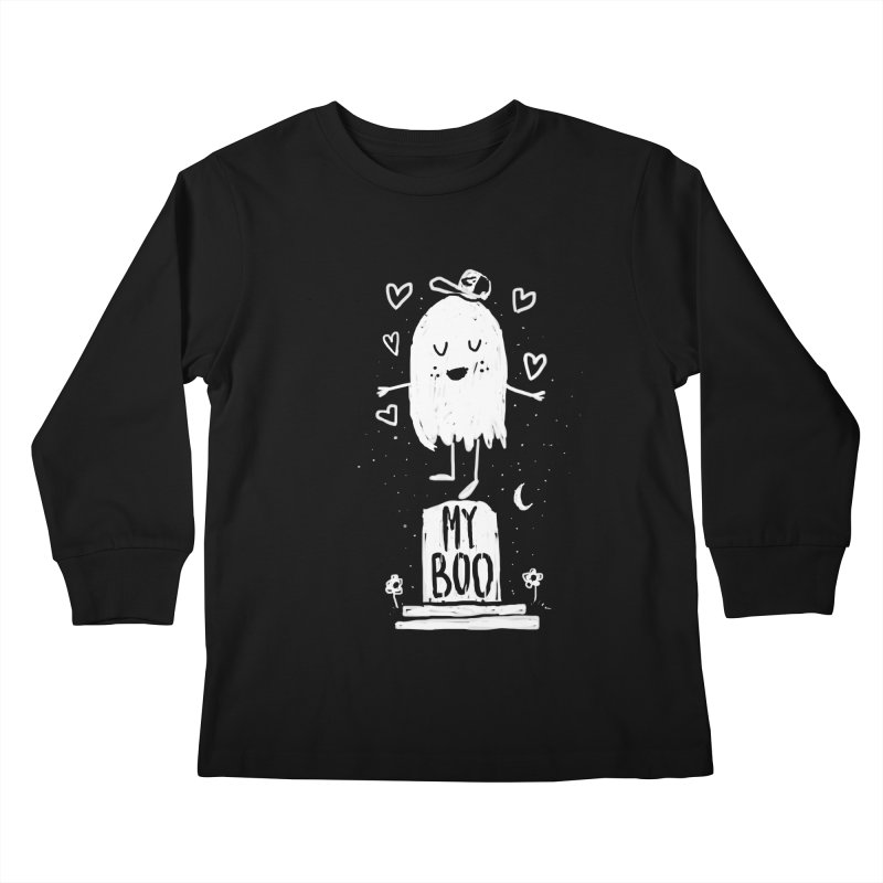 My Boo Kids Longsleeve T-Shirt by Thomas Orrow