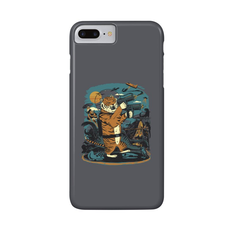 Death to the Dinosaurs Accessories Phone Case by Thomas Orrow