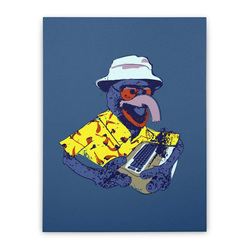 Gonzo Journalism Home Stretched Canvas by Thomas Orrow