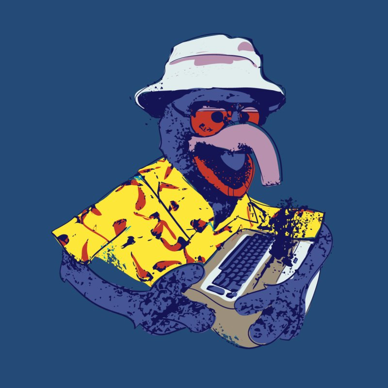 Gonzo Journalism Home Fine Art Print by Thomas Orrow