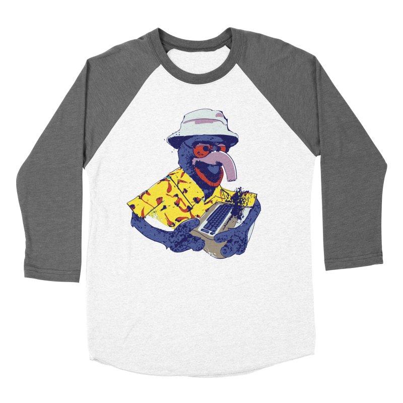 Gonzo Journalism Women's Baseball Triblend T-Shirt by Thomas Orrow