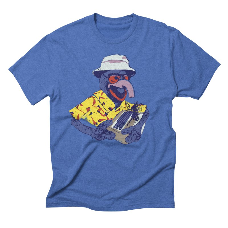 Gonzo Journalism Men's Triblend T-shirt by Thomas Orrow
