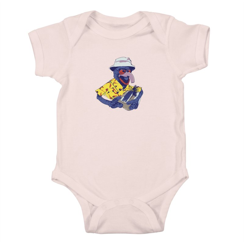 Gonzo Journalism Kids Baby Bodysuit by Thomas Orrow
