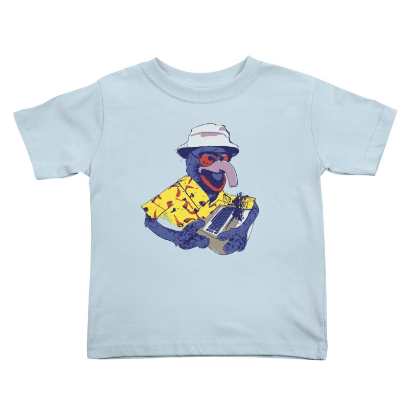 Gonzo Journalism Kids Toddler T-Shirt by Thomas Orrow