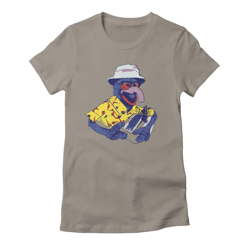 Gonzo Journalism Women's Fitted T-Shirt by Thomas Orrow