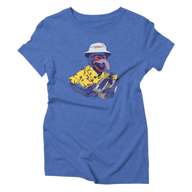 Gonzo Journalism Women's Triblend T-shirt by Thomas Orrow