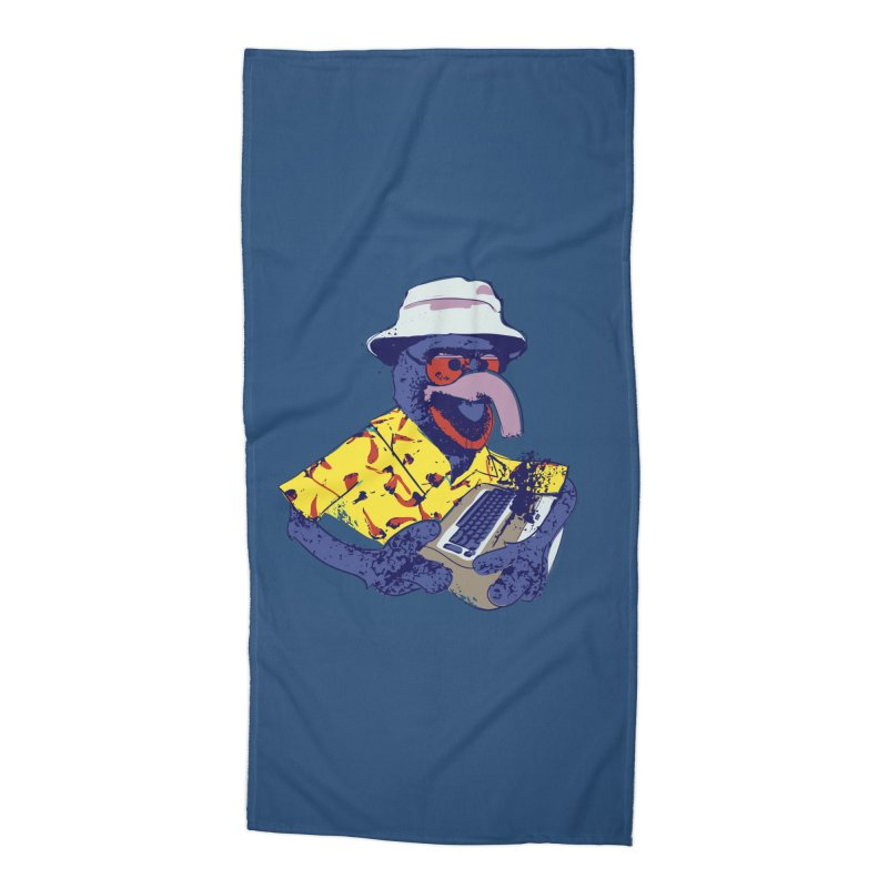 Gonzo Journalism Accessories Beach Towel by Thomas Orrow