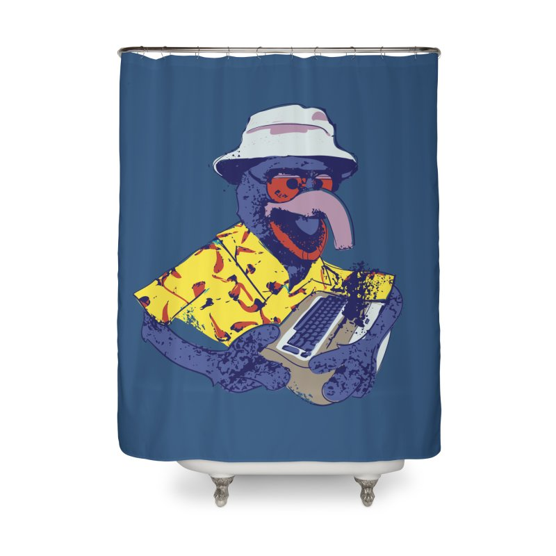 Gonzo Journalism Home Shower Curtain by Thomas Orrow