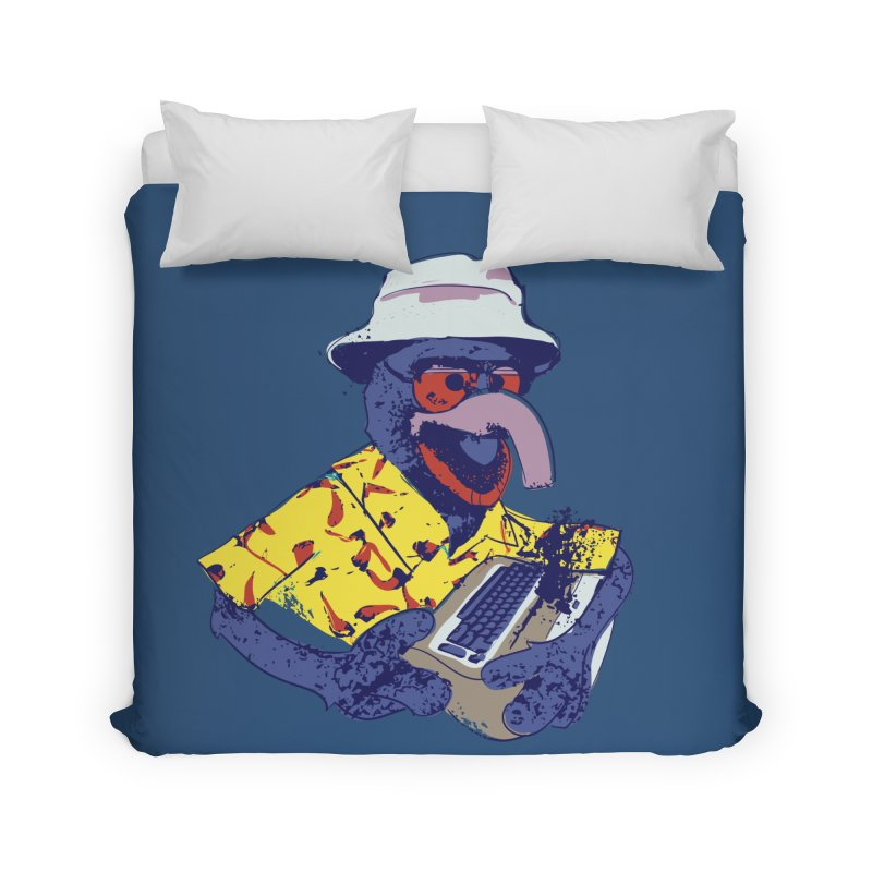 Gonzo Journalism Home Duvet by Thomas Orrow