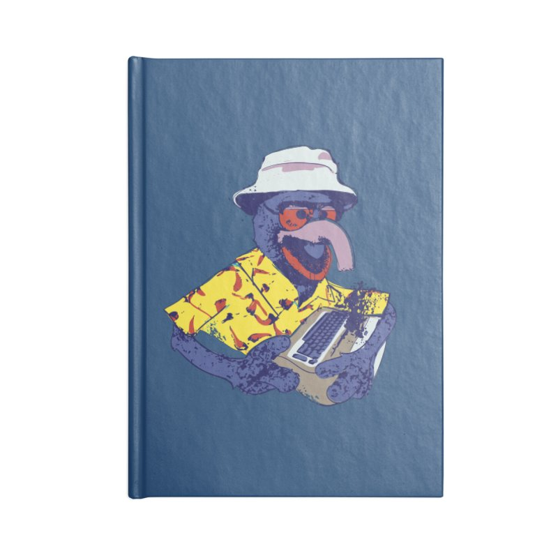 Gonzo Journalism Accessories Notebook by Thomas Orrow