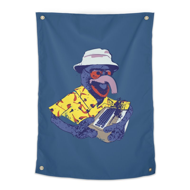 Gonzo Journalism Home Tapestry by Thomas Orrow