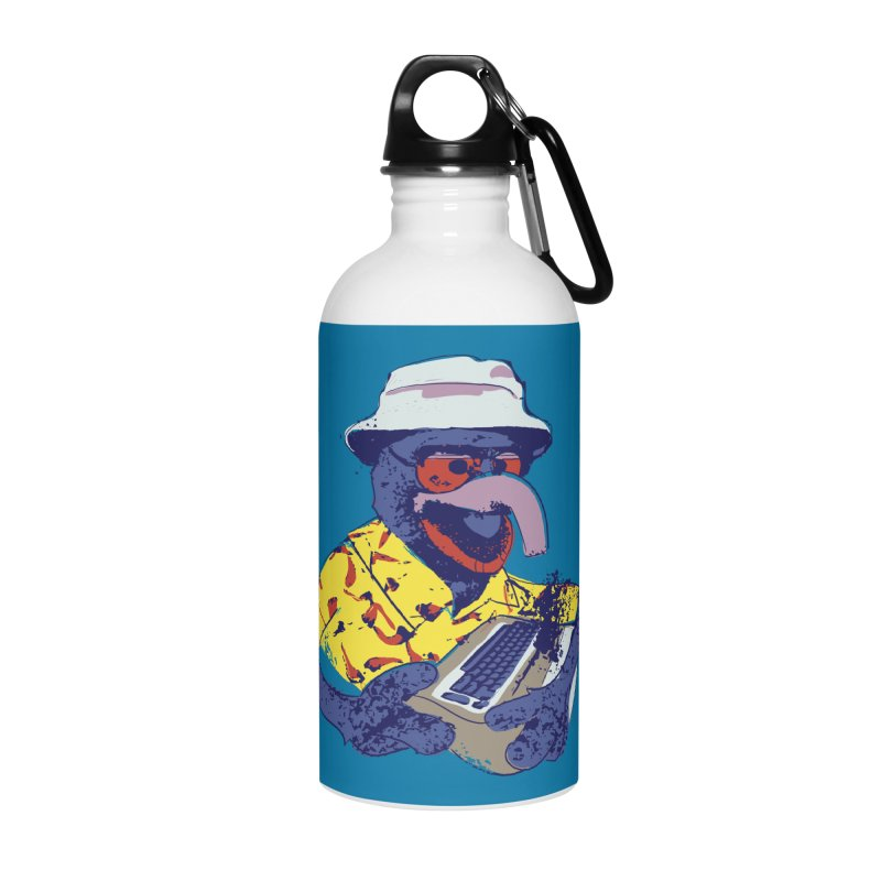 Gonzo Journalism Accessories Water Bottle by Thomas Orrow