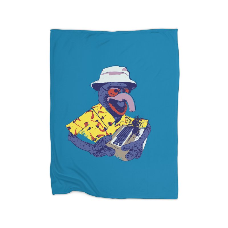Gonzo Journalism Home Blanket by Thomas Orrow