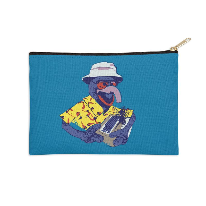 Gonzo Journalism Accessories Zip Pouch by Thomas Orrow