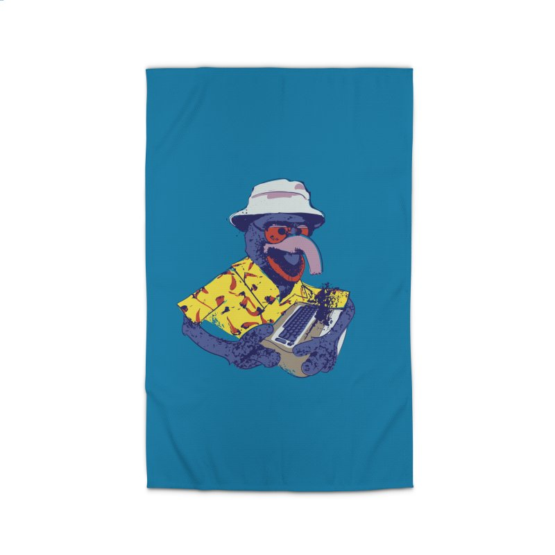 Gonzo Journalism Home Rug by Thomas Orrow