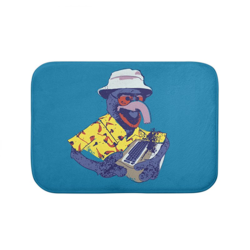 Gonzo Journalism Home Bath Mat by Thomas Orrow