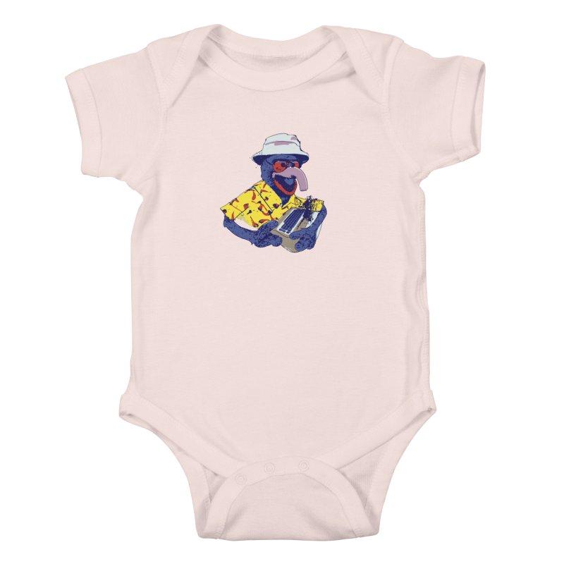 Gonzo Journalism Kids Baby Bodysuit by Thomas Orrow