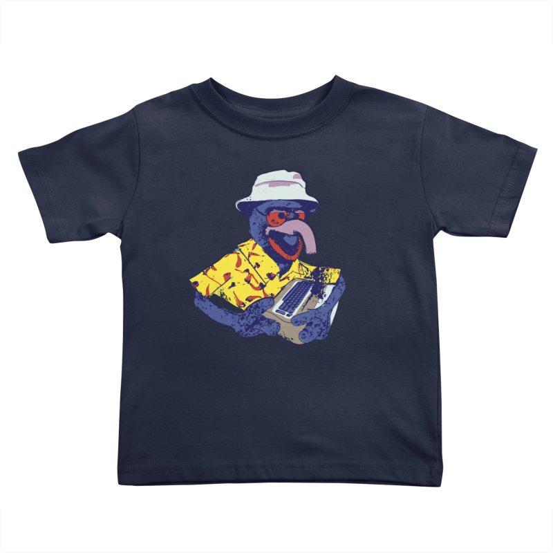 Gonzo Journalism Kids Toddler T-Shirt by Thomas Orrow
