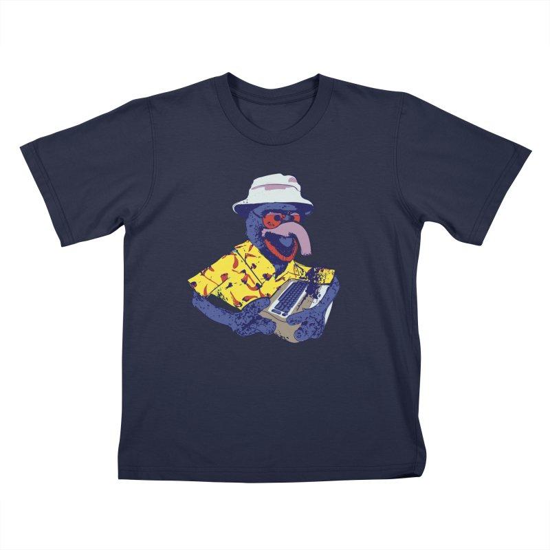 Gonzo Journalism Kids T-Shirt by Thomas Orrow