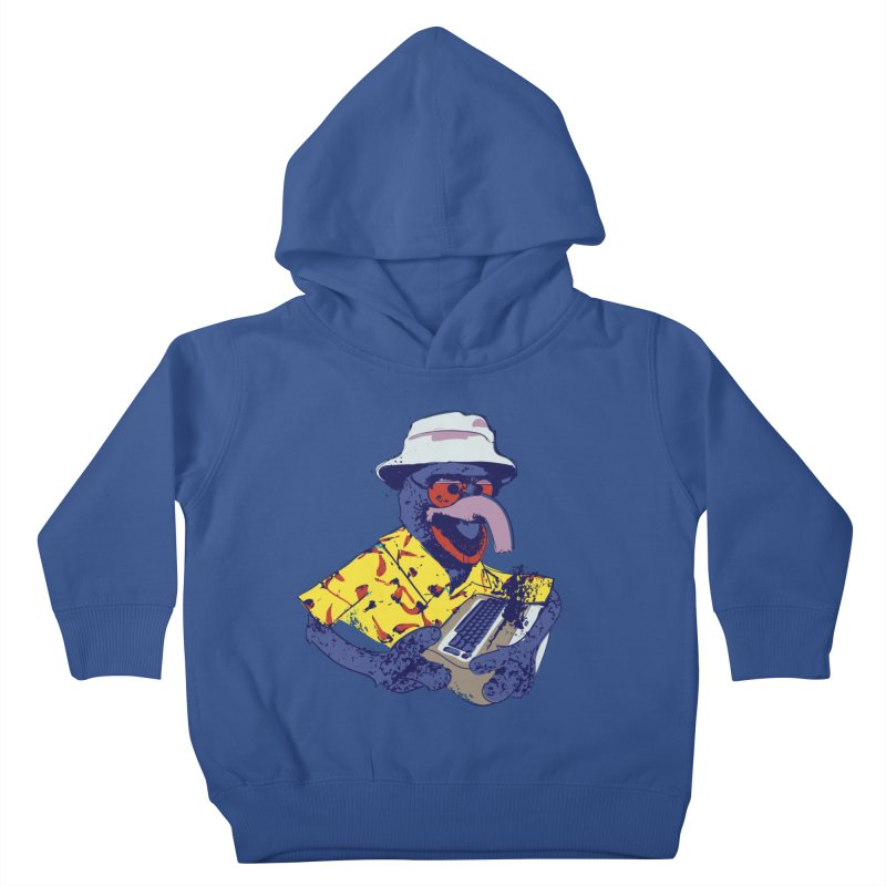 Gonzo Journalism Kids Toddler Pullover Hoody by Thomas Orrow