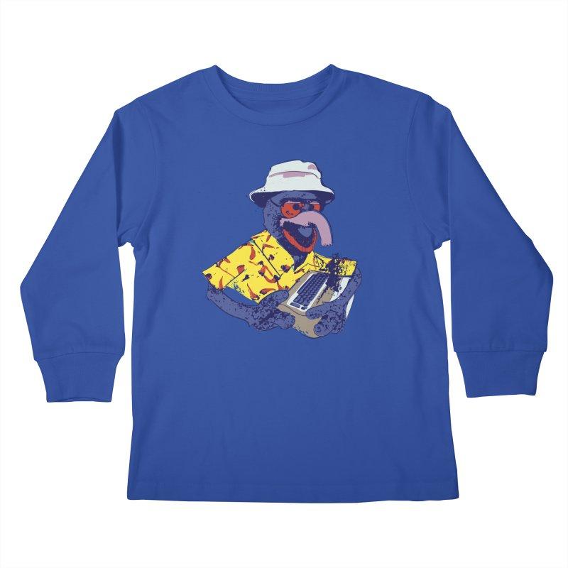 Gonzo Journalism Kids Longsleeve T-Shirt by Thomas Orrow