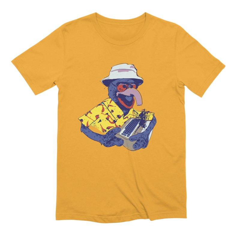 Gonzo Journalism Men's Extra Soft T-Shirt by Thomas Orrow